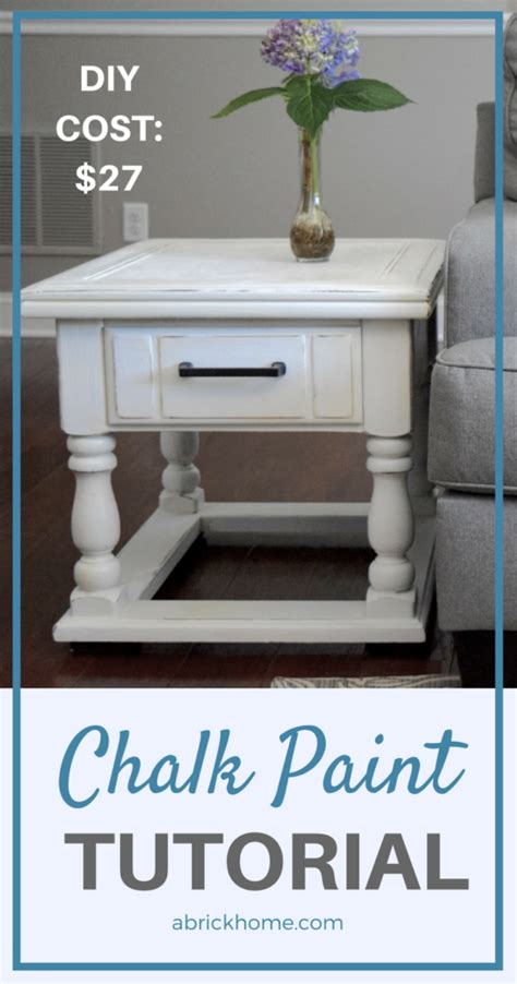 diy chalk paint techniques diy chalk paint furniture tutorial for beginners a brick