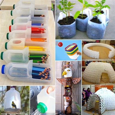 milk jug crafts for home recycle milk jugs recycling