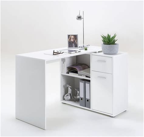 corner desk with drawers carla small l shaped corner computer desk white