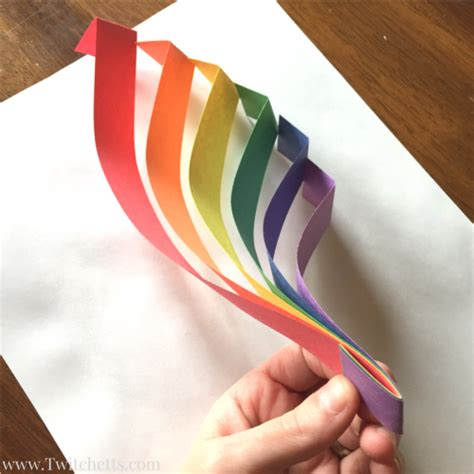3d construction paper crafts construction paper crafts for 3d rainbow