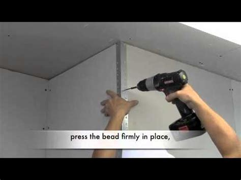 how to put on corner bead how to install metal drywall corner bead