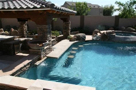 how to build a pool in your backyard build an attractive backyard pool bar by your self home