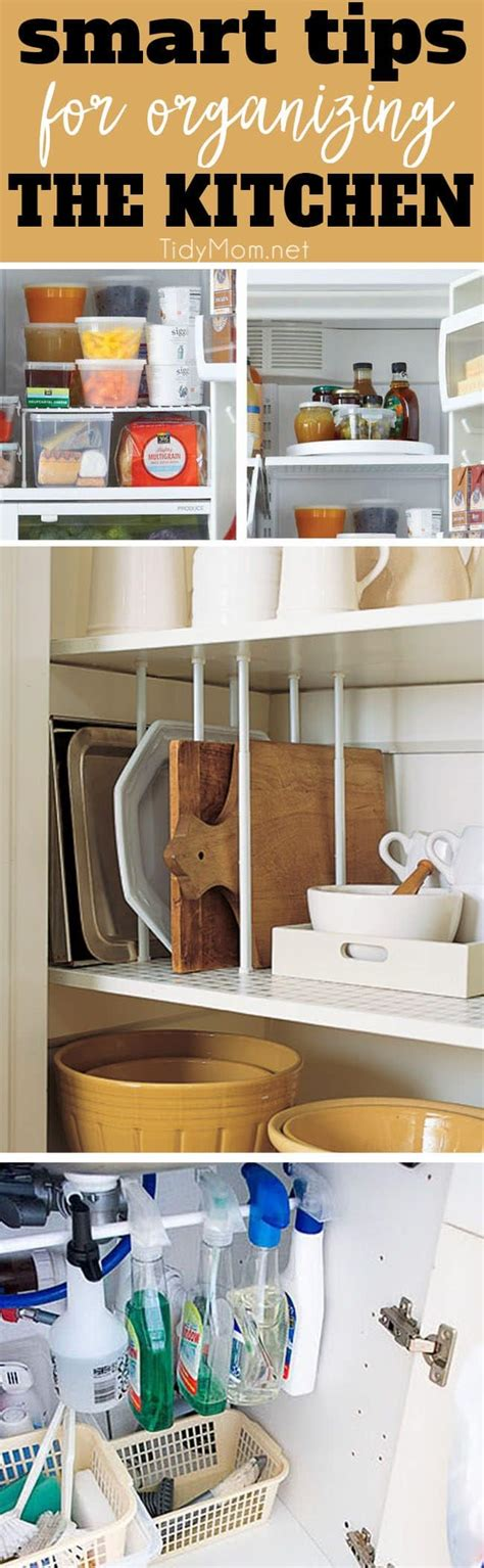 organization ideas for kitchen 8 smart organizing tips for the kitchen