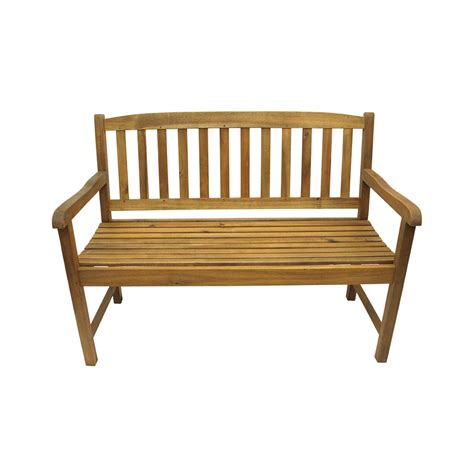 acacia patio furniture 47 quot quot acacia wood outdoor patio furniture bench