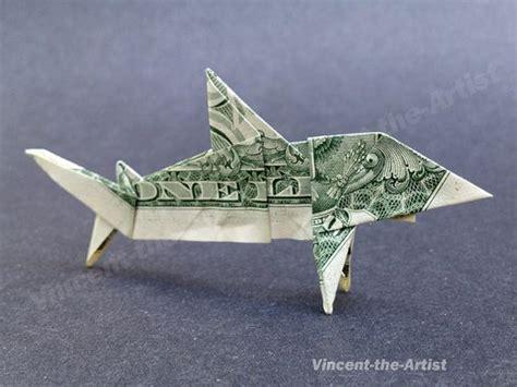 dollar origami shark dollar bill origami dollar bills and sharks on