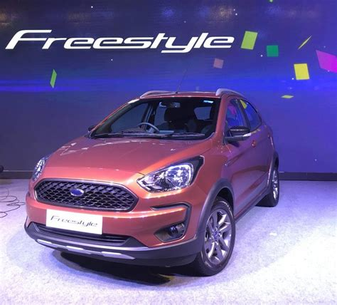 Ford Freestyle by Figo Based Crossover Ford Freestyle Unveiled In India