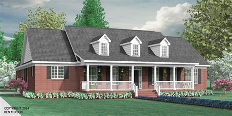 House Plans With Wrap Around Porches houseplans biz one story house plans page 1