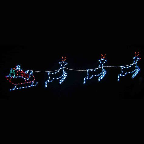 animated reindeer lights outdoor reindeer and sleigh lights 28 images animated