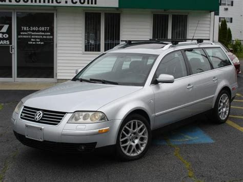 2003 Volkswagen Passat W8 by Just A Car 2003 Volkswagen Passat W8 4motion Wagon