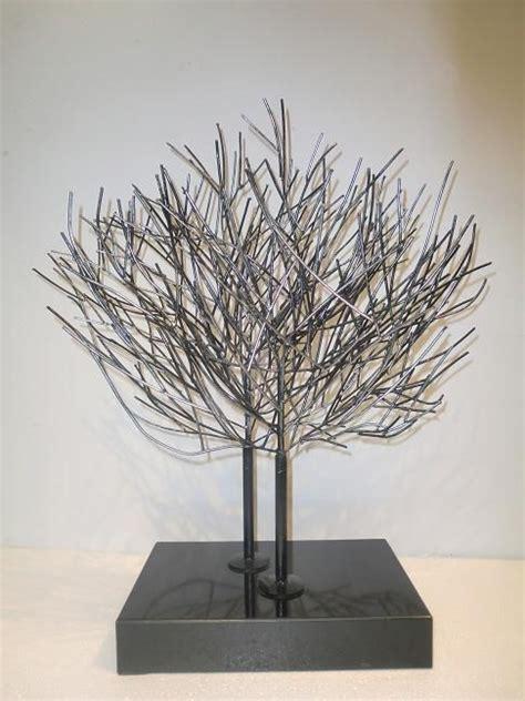 decorative metal trees decorative metal tree sculpture buy metal tree sculpture