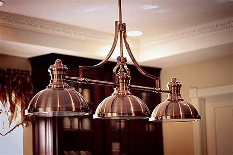 copper kitchen light fixtures pin by c re on for the home
