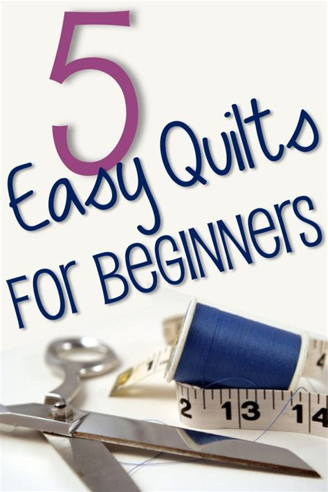 for beginners 5 easy quilt ideas for beginners you put it up