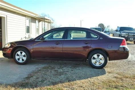 auto air conditioning service 2007 chevrolet impala electronic toll collection buy used 2007 chevy impala lt four door sedan only 45k original miles nice car look in