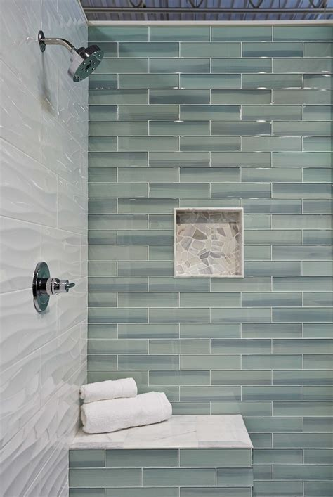 bathroom wall tile ideas bathroom shower wall tile new glass subway tile