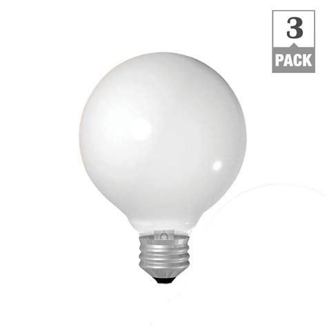 white bulbs ge 40 watt incandescent g25 globe soft white