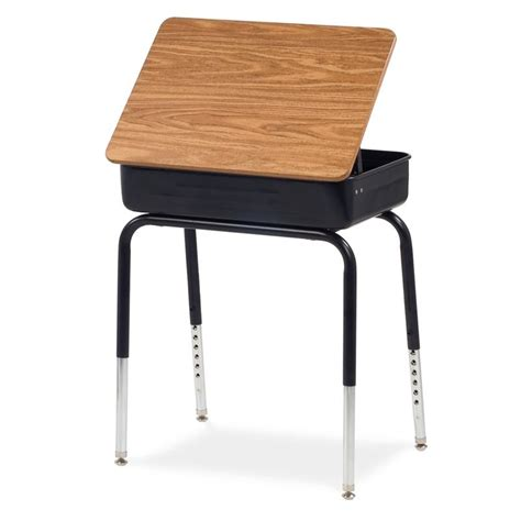 school desks virco lift lid school desk 751 on sale now