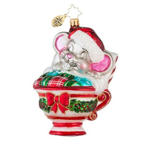 radko ornament maxwell mouse ornament by christopher radko