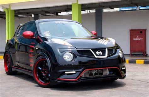 Modifikasi Mobil Hitam by Modifikasi Mobil Nissan Juke Hitam Terbaru