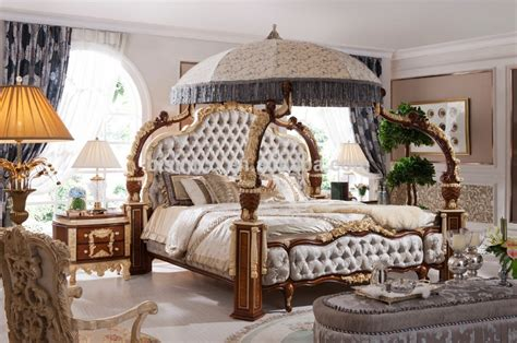 european style bedroom furniture wooden carved european style fancy classical canopy