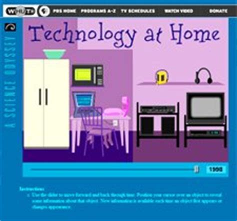 technology at home science netlinks