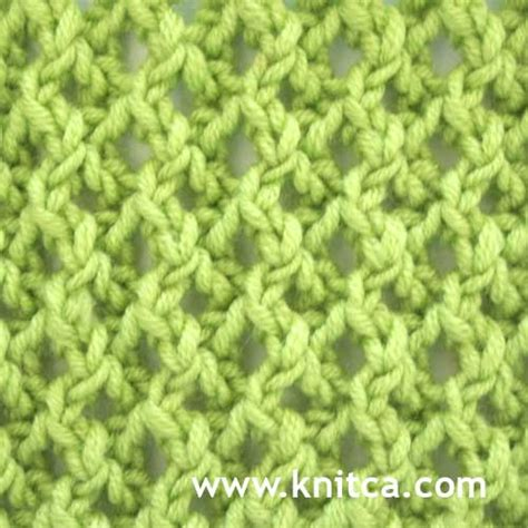 reversible knit stitches knitca pretty stitch pattern for a scarf or a hat