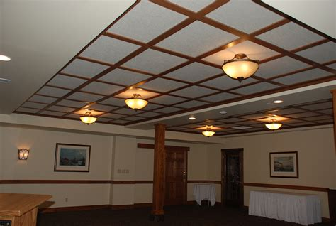 Drop Ceiling by The Fastest Way To Paint Ceiling Tiles The Reno Pros