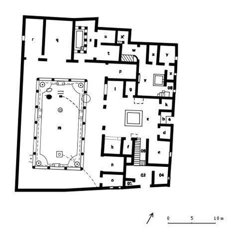 house of the vettii floor plan house of vettii floor plan house plans