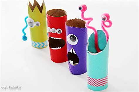 how to roll paper for crafts toilet paper roll crafts recycled treat holders