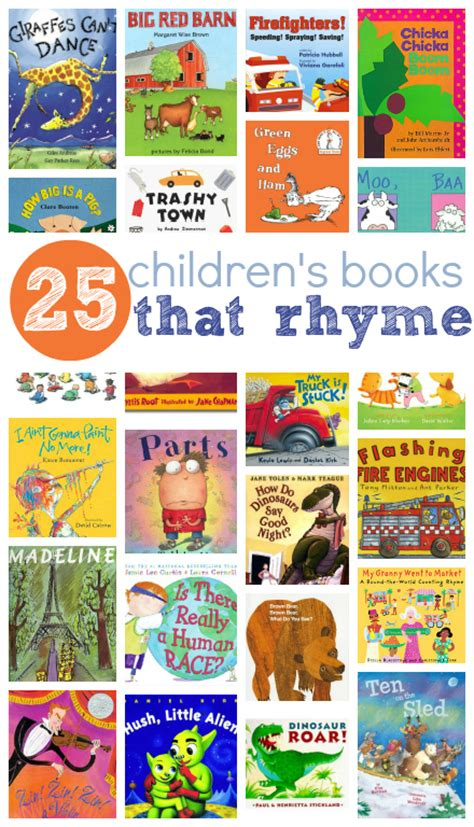 picture books to read 25 picture books that rhyme
