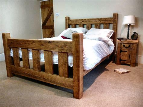 rustic pine bed frame rustic pine slat bed frame ben furniture