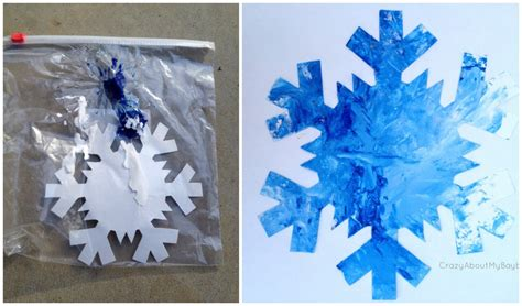 snowflake crafts for 25 winter and crafts for week 2