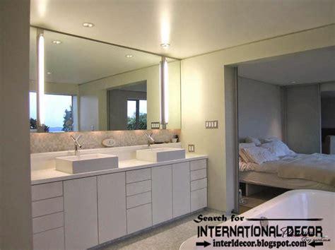 contemporary bathroom light modern bathroom lights and lighting concepts top home