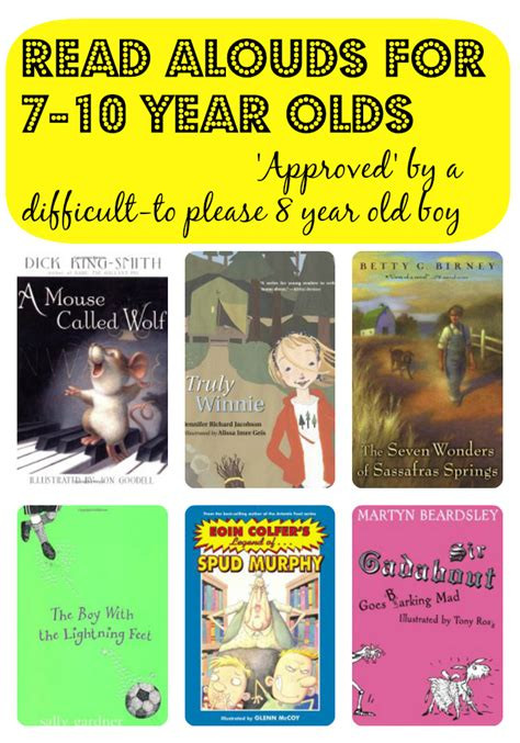 picture books for 7 year olds read alouds for 7 10 year olds approved by a difficult to