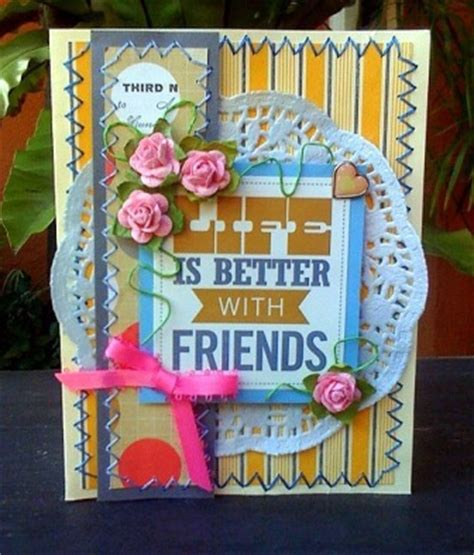 how to make a friendship card friendship cards to make