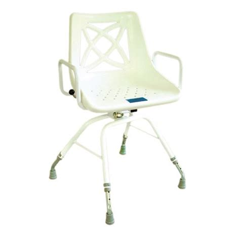 swivel shower chairs myco swivel shower chair total mobility