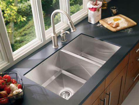 kitchen undermount sink how to choose a kitchen sink stainless steel undermount