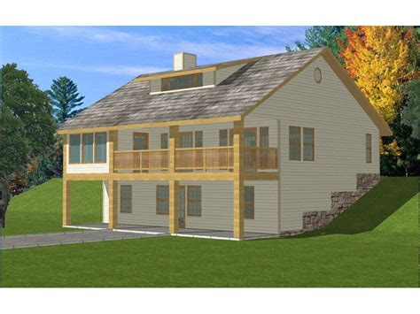house plans for sloping lots country home plan 088d 0188 house plans and more