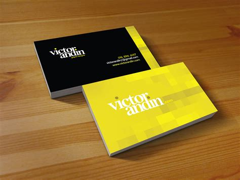make name cards victor andin design name card victor andin design