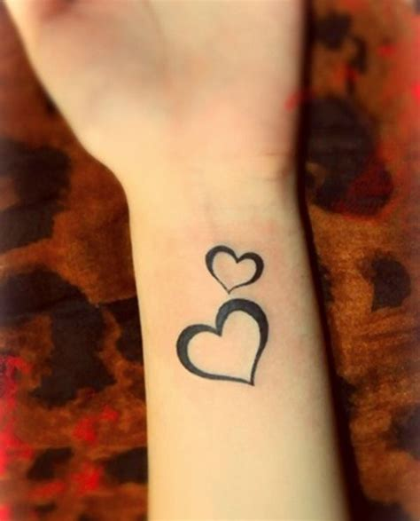 17 best ideas about small heart tattoos on pinterest
