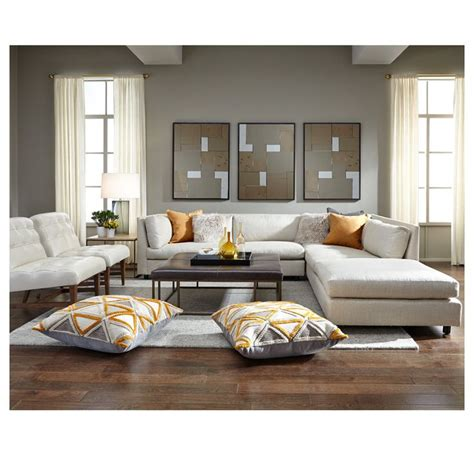 mitchell gold bedroom furniture franco sectional available and in stores