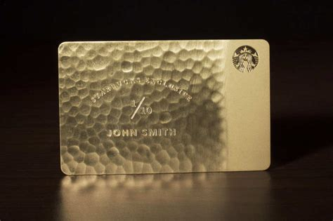 how to make a starbucks card why yes there are 5 000 solid gold starbucks cards