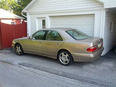 2001 Mercedes E430 by Find Used 2001 Mercedes E430 Hanover Pa As Is In