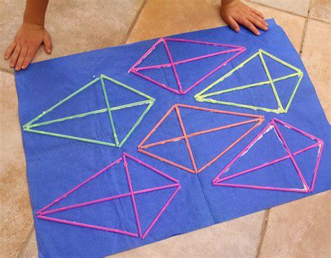 kite paper craft 엄마표미술놀이 ㅣ 유아미슬 ㅣ 유아영어미술 빨대로 연만들기 kite craft with