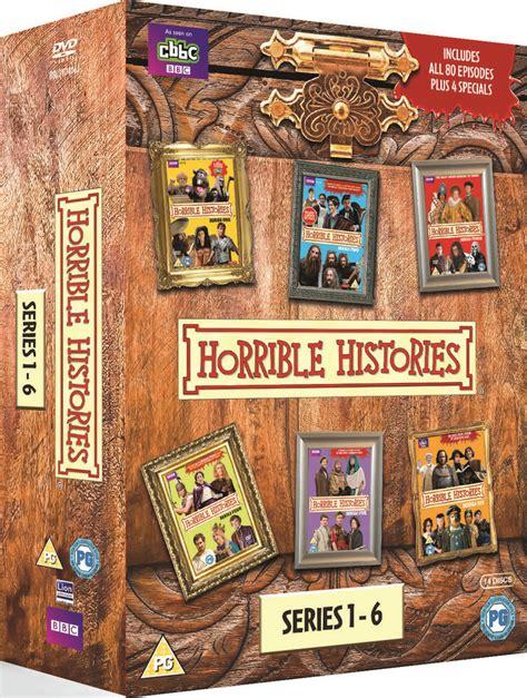 belchester box set series 1 horrible histories box set series 1 6 specials dvd