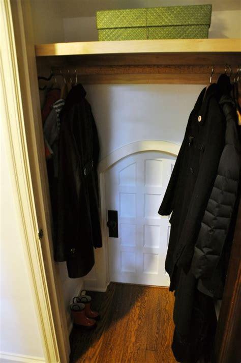 hideaway closet doors parents build hideout in closet secret door