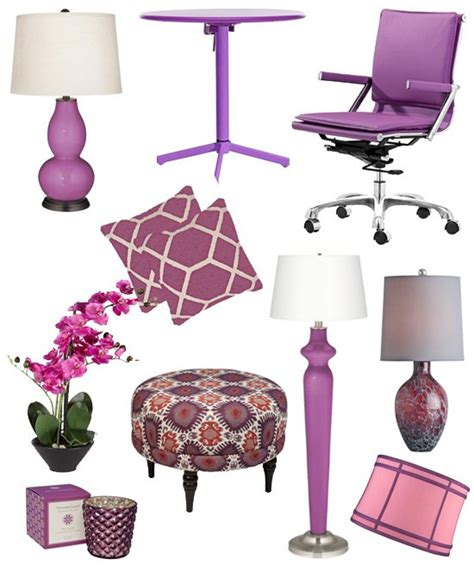 radiant orchid home decor 2014 color of the year interior design