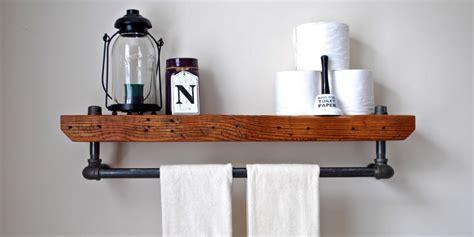 bathroom shelf idea bathroom shelves beautiful and easy diy bathroom