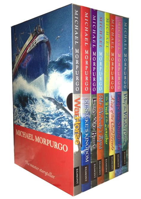 michael morpurgo picture books michael morpurgo series 8 books set children collection