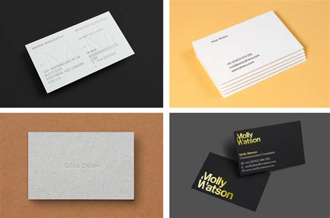 who makes the best business cards business card design inspiration no 3 bp o