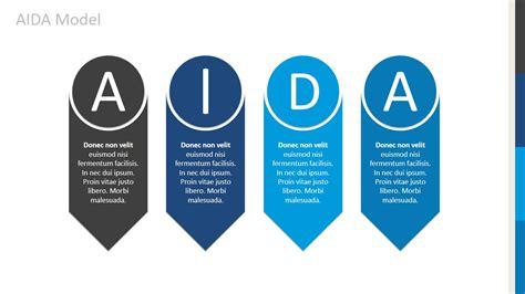 aida powerpoint template slidemodel